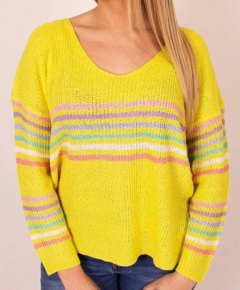 Striped Knitted Jumpers